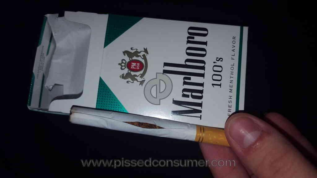 Marlboro Menthol Lights Cigarettes Reviews And Complaints
