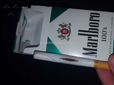 Marlboro - Menthol Lights Cigarettes Review from Blackwood, New Jersey
