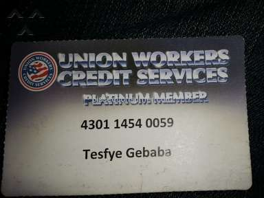 Union Workers Credit Services - Simple Review #1417885975