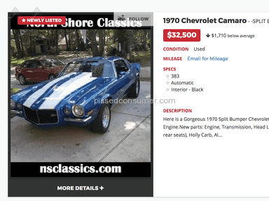 North Shore Classics Auto Advertisement review 201174