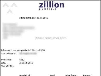 Zillion Periodicals & Publishing review 101787