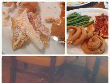 Ruby Tuesday Green Beans Side Dish Review from Houston, Texas
