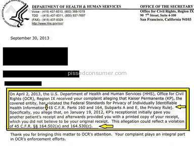 Kaiser Permanente Hospitals, Clinics and Medical Centers, Doctors review 137091