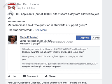 Roca Labs - Don Karl Juravin abuses, he bans me for asking a question