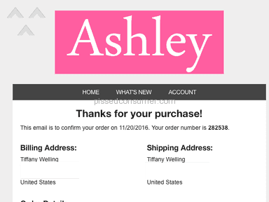Ashley Jewels Shipping Service review 182982