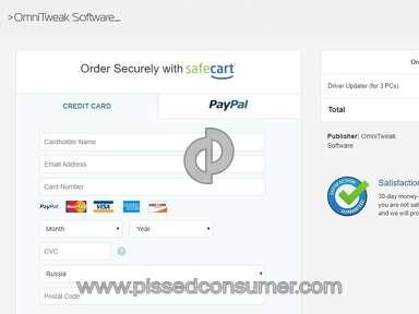 Safecart Omnitweak Software Driver Updater review 225248