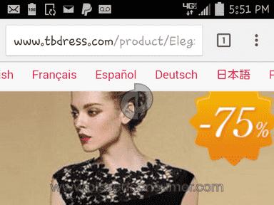 Tbdress Dress review 80669