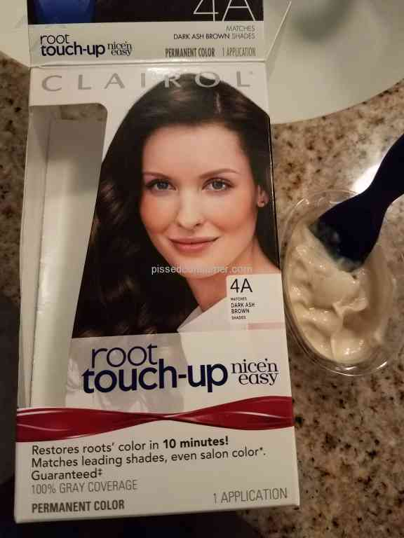Clairol Dye Did Not Turn Dark Mar 30 2018 Pissed Consumer