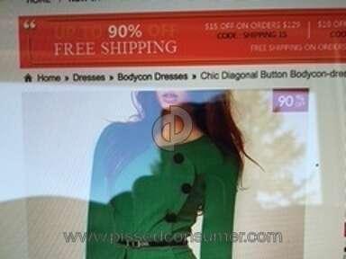 Fashionmia Dress review 127823