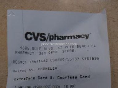 Cvs Pharmacy Pharmacy review 85827