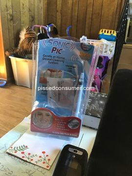 Sonic Pic Teeth Whitening System