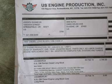Us Engine Production Pickup Truck Engine review 202796