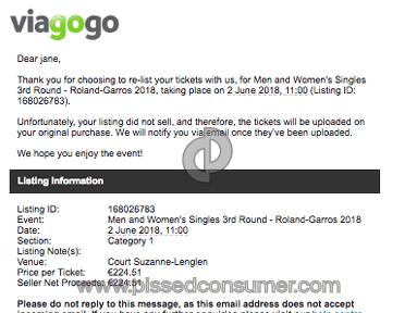 Viagogo Tickets review 293016