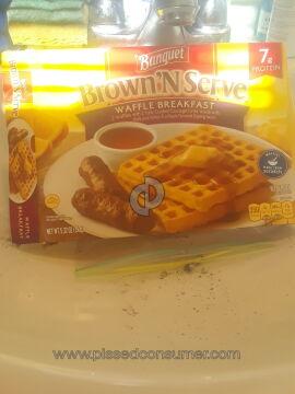 Banquet Meals Brown N Serve Waffle