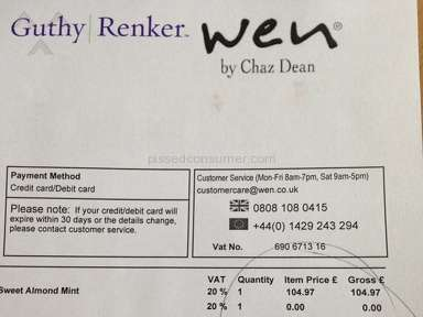 Guthy Renker - Wen Hair Care Product Review from Oxford, Oxfordshire