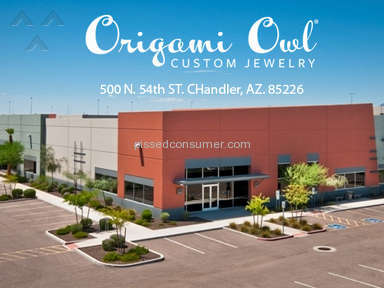Origami Owl Customer Care review 95411