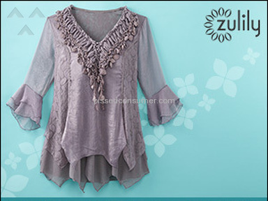 Zulily - Blouses not ever found