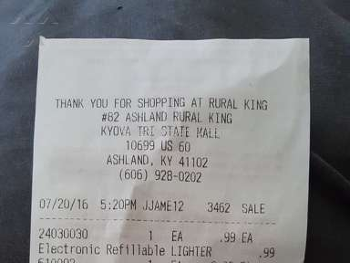 Rural King Cashier review 148112