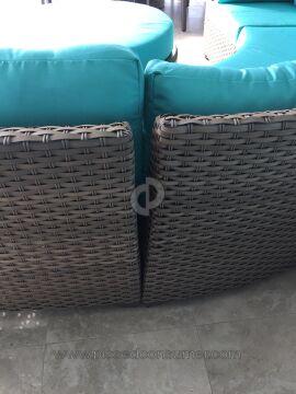 Tk Classics Catalina Wicker Furniture Set