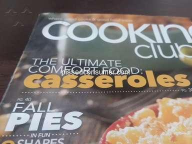 Cooking Club Of America - Another rip off, and broken promises