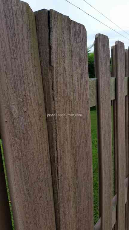 lowes loweu0027s installed the fence incorrectly which voided warranty