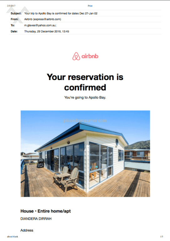 how to write a review in airbnb