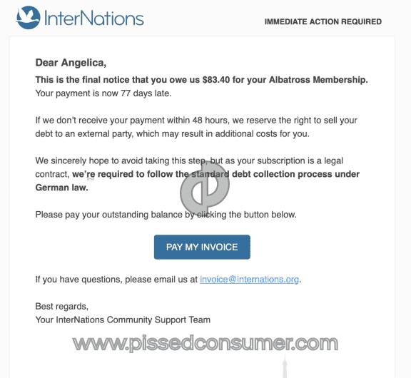 Internations Albatross Membership