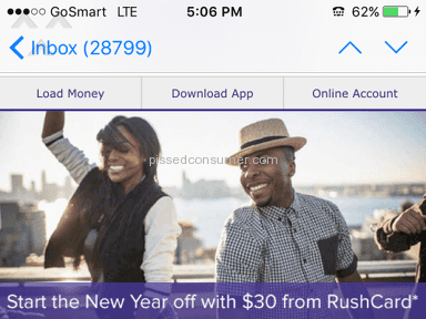 Rushcard - Deposit Review from Chicago, Illinois