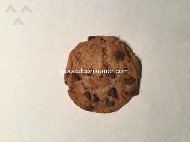 Chips Ahoy - Overbaked - too hard and brittle