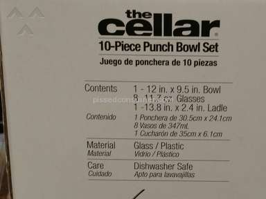 Macys The Cellar Punch Bowl review 127899