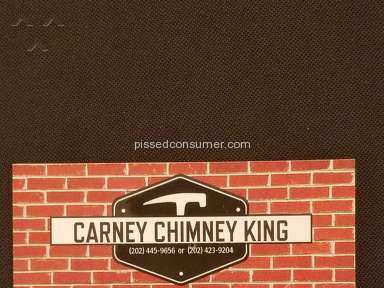 Carney Chimney King Of Camp Springs - Beware! Unlicensed Home Improvement Contractor