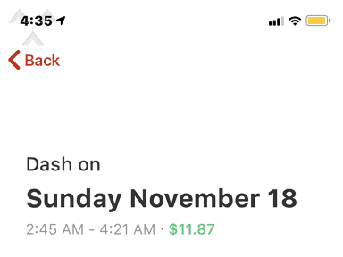 DoorDash - I'm disappointed with the glitches cancellations and incorr.