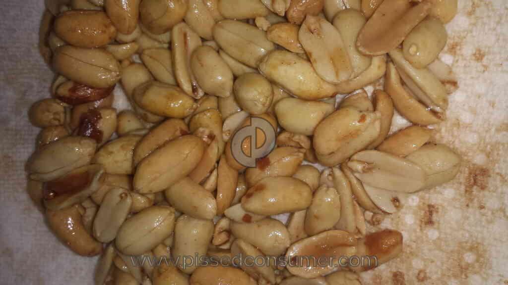 Kraft Foods 52 Oz Can Of Planters Extra Large Virginia Peanuts