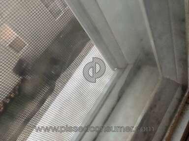 Castle Windows - Broken seals around window panes