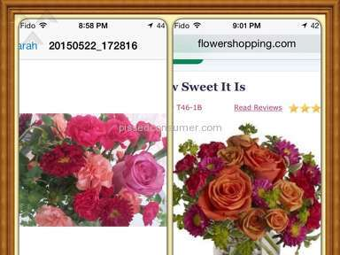 FlowerShopping - Arrangement Review from Aurora, Ontario