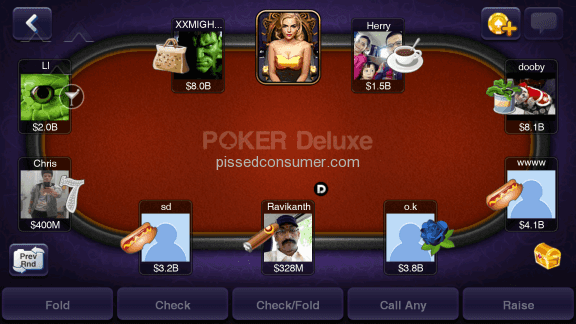 Igg Texas Holdem Poker Deluxe Mobile Application