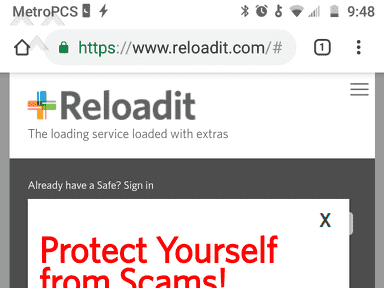 Reloadit - Scammed and over it