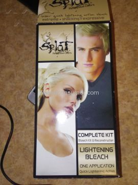 Splat Hair Color Lightening Bleach Hair Dye