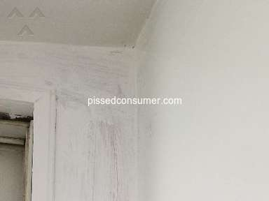 Valspar - Didn't cover in one coat even though it said it does