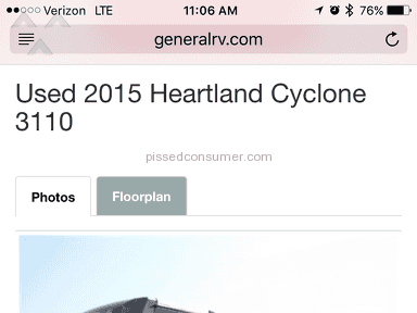 General Rv Center - Heartland Cyclone 3110 Review from Winston, Georgia