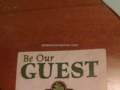 Texas Roadhouse Sanitary Conditions review 99549