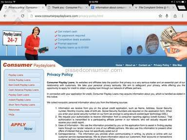 Consumer Payday Loans Loans and Mortgages review 85341