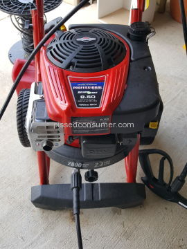 Troy Bilt 020568 Pressure Washer
