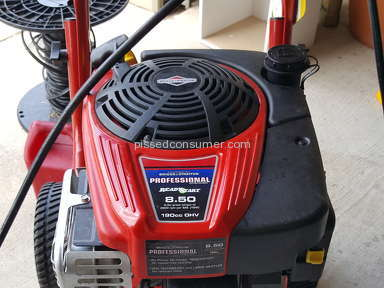 Troy Bilt - 020568 Pressure Washer Review from Hammond, Louisiana