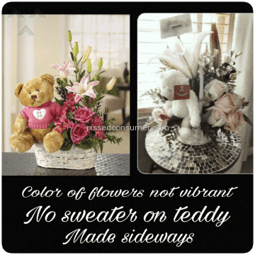 From You Flowers A Beary Happy Birthday Flower Basket