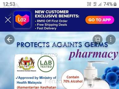Lazada Malaysia Customer Care review 521531