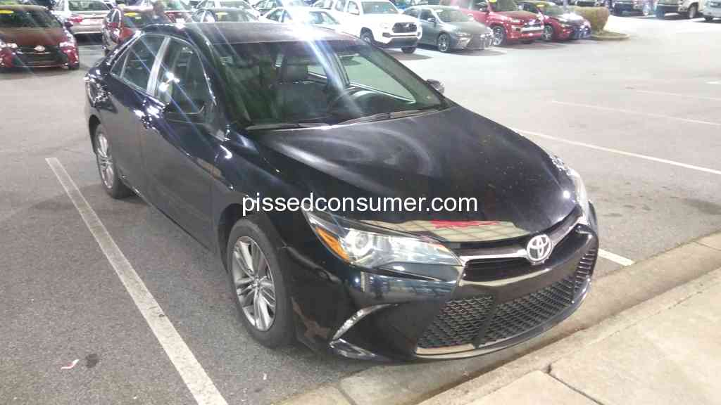 Southeast Toyota Finance   SETF Expects The Car To Be Brand New At Lease End