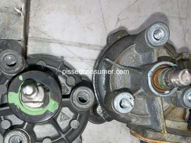 Rockauto - Wiper motor gearbox shaft not the same as OEM.