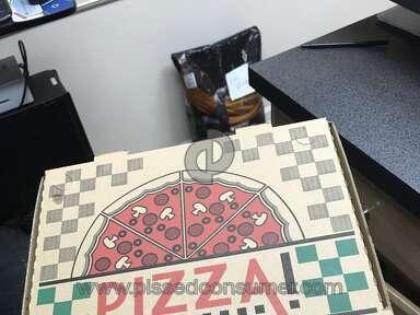 DoorDash Depalmas Porch Pizza review 261356
