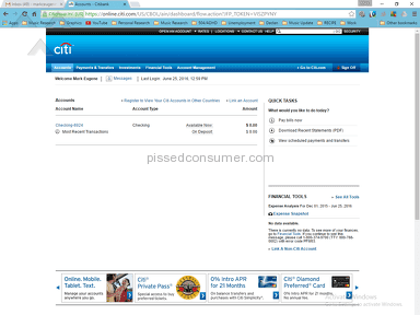 Citibank Account review 142736